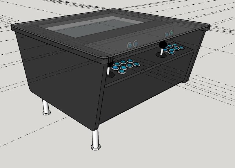 build arcade machine